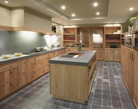 Van Hout Keukens : Houten keukens op maat massief en laag geprijsd keuken centrum